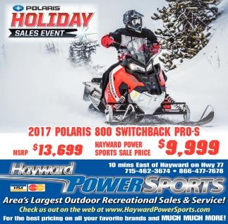 Polaris Holiday Sales Event
