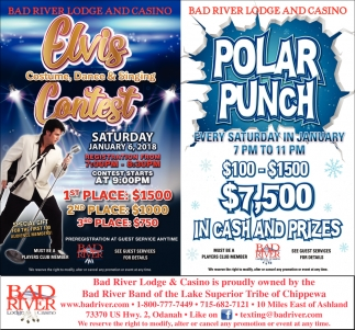 Elvis Contest / Polar Punch