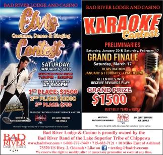 Elvis Contest / Karaoke Contest