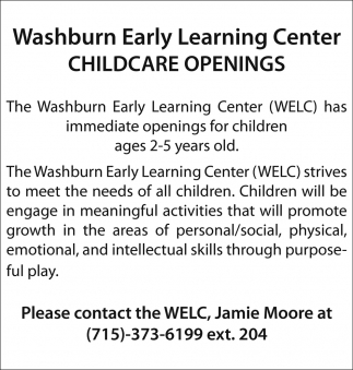 child care ads
