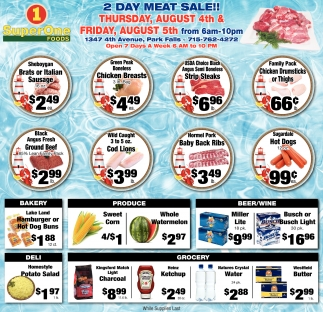 2 DAY MEAT SALE!!