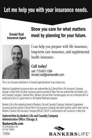 Let me help you with your insurance needs