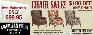 Ads For American Pride Furniture U0026 Gifts In Cameron, WI