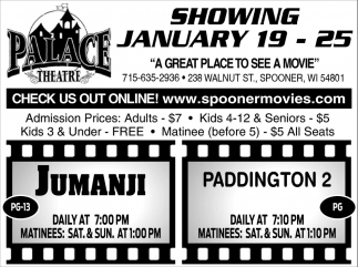 Showing January 19 - 25