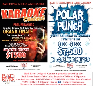 Karaoke Contest / Polar Punch