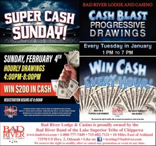 Super Cash Sunday / Cash Blast