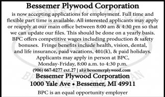 Applications for Employment