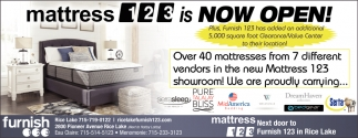 Mattress 123 Is Now Open Furnish 123 Eau Claire Wi