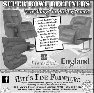 Super Bowl Recliners