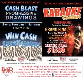 Cash Blast / Karaoke Contest