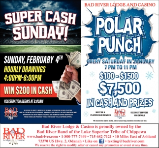 Super Cash Sunday / Polar Punch