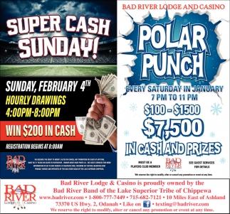 Super Cash Sunday / Polar Punch