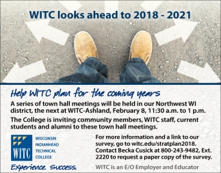 WITC looks ahead to 2018 - 2021