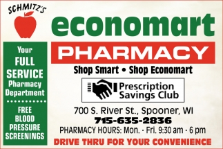 Your Full Service Pharmacy Department