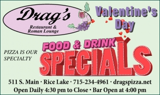 Valentine S Day Drag S Restaurant Roman Lounge Rice Lake Wi