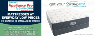 Mattresses At Everyday Low Prices Oleson S Liance Pro Sleep Rice Lake Wi