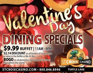Valentine's Day Dining Specials