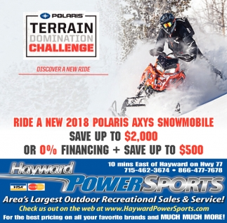 Polaris Terrain Domination Challenge