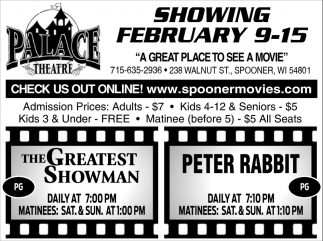 Showing February 9 - 15