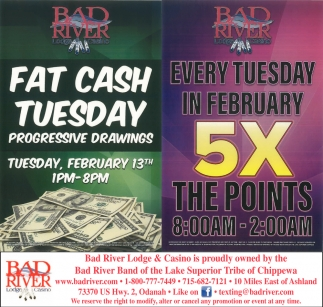 Fast Cash Fridays / 5X The Points