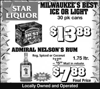 MILWAUKEE'S BEST ICE OR LIGHT