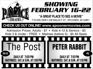 Showing February 16 - 22