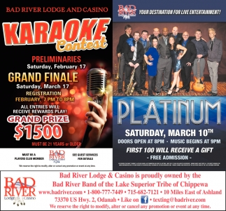 Karaoke Contest / Platinum