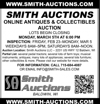 Online Equipment ]& Collectibles Auctions