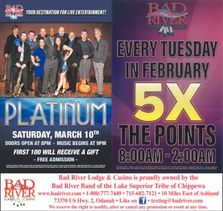 Platinum / 5X The Points