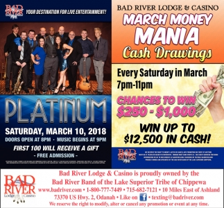Platinum / March Money Mania