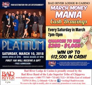 Platinum / March Money Mania