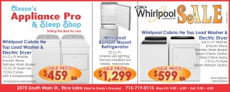 Whirlpool Sale