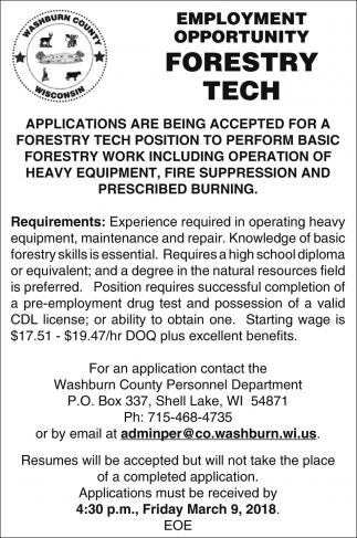 Forestry Tech