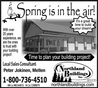 Build this Spring!