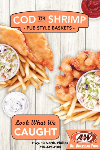 Cod or Shrimp