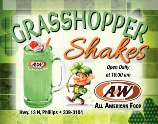 Grasshopper Shakes