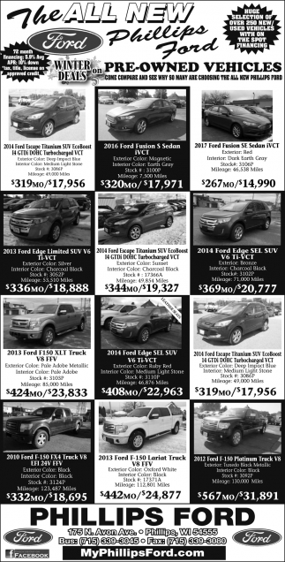 Winter Deals on Pre-Owned Vehicles