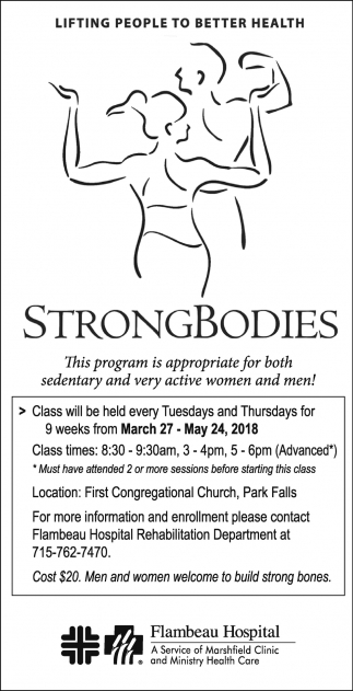 Strong Bodies