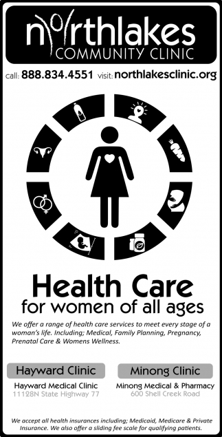 Health Care for women of all ages