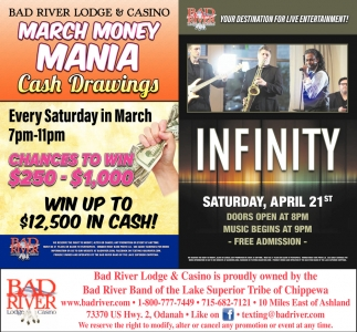 March Money Mania / Infinity