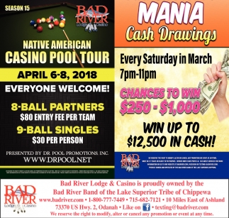 Native American Casino Pool Tour / Mania Cash Drawings