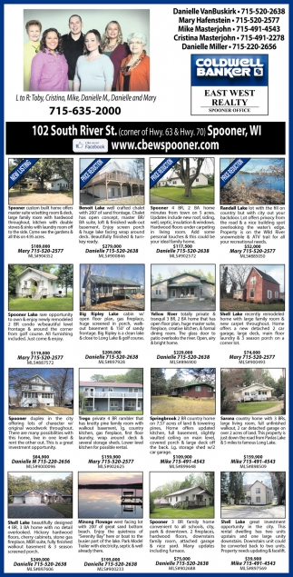LISTINGS OF THE WEEK