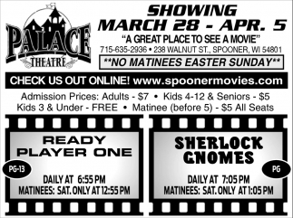 Showing March 28 - April 5