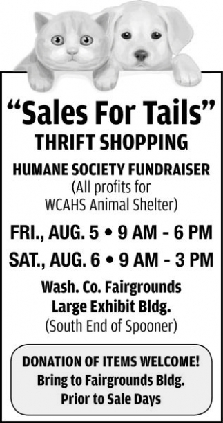 Sales For Tails