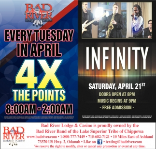 4X The Points / Infinity
