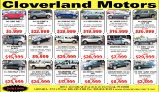 www.cloverlandmotorsmi.com