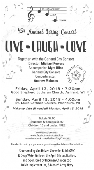 45th Annual Spring Concert