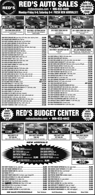 RED'S AUTO SALES