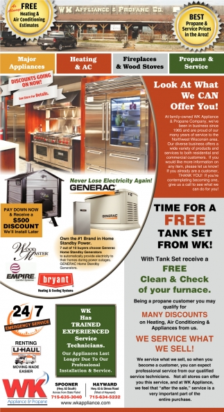 Best Propane & Service Prices in the Area!