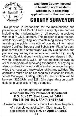 County Surveyor